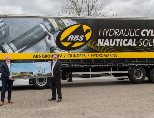 Nieuwe trailer in gebruik afgestemd op ABS Cilinders & ABS Hydromarine